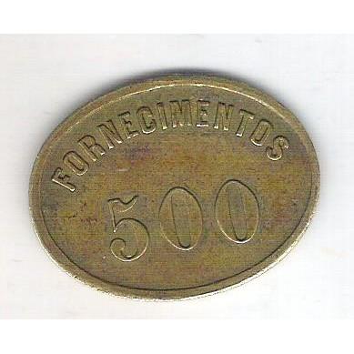 Ficha da Estrada de Ferra do Paraná - Fornecimentos 500