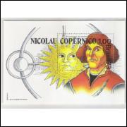 B-034 - 1973 5o Centenário de Nascimento de Nicolau Copérnico.