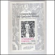 B-031 - 1972 Cinquentenário da Semana de Arte Moderna - 1922. - Di Cavalcante