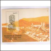 B-091 - 1992 - Bicentenário da execução de Tiradentes. Escultura.