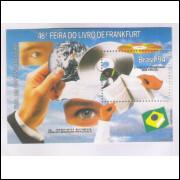 B-096 - 1994 - 46a Feira do Livro de Frankfurt. Olhos e mão.