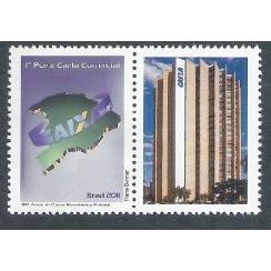 C-3079 - 2011 - Selo Personalizado - 150 Anos da Caixa Econômica Federal