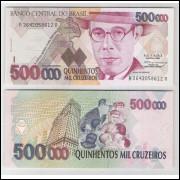 C231 - 500.000 Cruzeiros, 1993, Paulo R. Haddad e Gustavo Loyola, fe. Mário de Andrade.