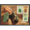 max056 - 1977 Pedras Preciosas - série. Minerais. Carimbo Comemorativo e 1o Dia -  Rio de Janeiro-RJ