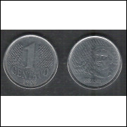 1994 - 1 Centavo, mbc-s, aço.