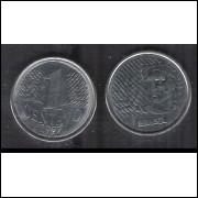 1997 - 1 Centavo, soberba (s), aço.