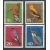 Alemanha, 1963, Pro-Juventude, pássaros, fauna. Sem carimbo, com goma, mint. Yv. 273-266.