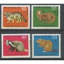 Alemanha, 1968, Pro-Juventude, fauna. Sem carimbo, com goma, mint. Yv. 414-417.
