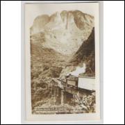Cartão postal, 5 - Estrada de Ferro Curitiba-Paranaguá. Foto Postal Colombo. Excelente conservação.