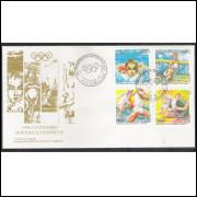 FDC-675 - 1996 - Centenário dos Jogos Olímpicos. Esportes.