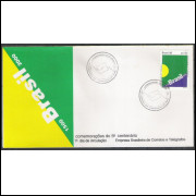 FDC-672 - 1996 - Brasil - Comemorações do 5o Centenário - 1500-2000