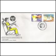 FDC-650 - 1995 - Programa de Redução de Acidentes nas Estradas - Pare.