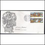 FDC-644 - 1995 - Festas Juninas. Folclore.