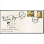 FDC-480 - 1989 - 500 Anos do Descobrimento da América. UPAE. Arte