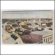 ctb23 - Cartão postal antigo, Un quartier de la Ville de Curityba. A. Breger Fréres.