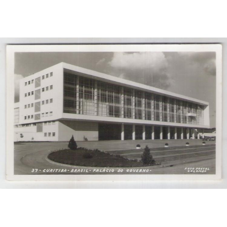 ctb32 - Foto postal Colombo, 37 - Curitiba - Palácio do Governo.