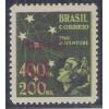 AO54D - 1944 - 60 cts sobre 400 Réis, Pró-Juventude, com SOBRECARGA DUPLA.