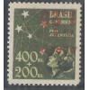 AO56C - 1944 - Cr$ 1,20 sobre 400 Réis, Pró-Juventude, com SOBRECARGA INVERTIDA.
