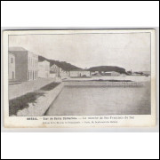 sf04 - Postal antigo - São Francisco do Sul - SC, Mercado. Édition de la Mission de Propagande.