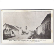 joi11 - Postal antigo - Joinville - SC, Uma rua. Édition de la Mission de Propagande.