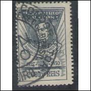 1930 - K-11 - 3o Aniversário do Serviço Aéreo Comercial no Brasil. Victor Konder. Carimbado