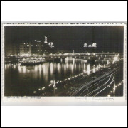 re03 - Cartão postal antigo,Bairro de Santo Antonio, Recife, Pernambuco. Ed. Wessel.