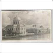 re04 - Cartão postal antigo, Palácio da Assembléia e Colégio Estadual, Recife. Studio Edson.