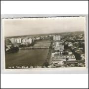 re06 - Cartão postal antigo, Vista Panorâmica da cidade de Recife - Pernambuco.