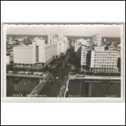 re08 - Cartão postal antigo, Vista Panorâmica da cidade de Recife - Pernambuco.
