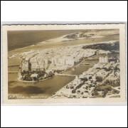 re11 - Cartão postal antigo, Vista aérea - Recife - Pernambuco.