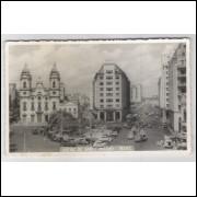 re18 - Cartão postal antigo, Matriz de Santo Antônio - Recife - Pernambuco. Igreja.