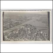 re19 - Cartão postal antigo, Vista parcial - Recife - Pernambuco.