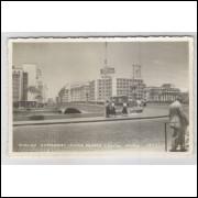 re20 - Cartão postal antigo, Avenida Guararapes, Ponte Duarte Coelho - Recife - Pernambuco.
