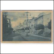 sa04 - Cartão postal antigo, Avenida Sete de Setembro, Salvador. Ed. Catilina.