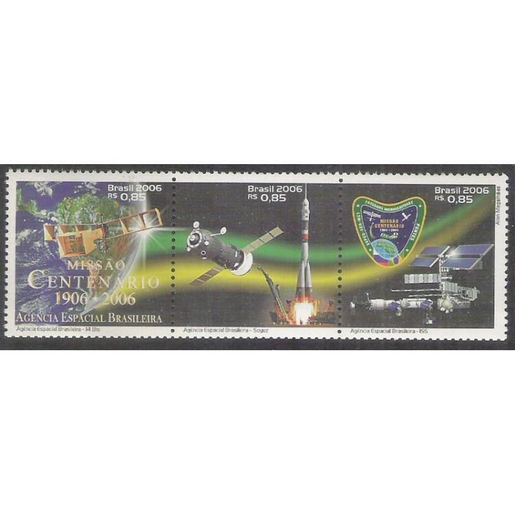 2006 - C-2644-46 - Missão Centenário. 14 Bis - Soyuz - Agência Espacial Brasileira-ISS.