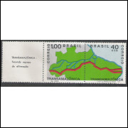 1971 - C-699-700 - Transamazônica: fecunda espaço de afirmação. Par, legenda à esquerda.