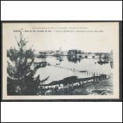 sl01 - Cartão postal antigo,  - Vila de São Leopoldo. Edition de la Mission Brésilienne.