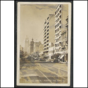 SP03 - Cartão postal antigo, 1946, São Paulo, Avenida São João.