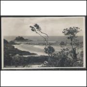 IT02 - Cartão postal antigo, Itanhaen, vista parcial No 2. Ilha das Cabras.