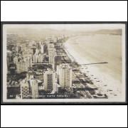 SN11 - Cartão postal antigo, Santos, Vista Parcial. Foto Postal Colombo.
