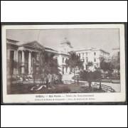 SP21 - Cartão postal antigo, São Paulo, Palácio do Governo. Ed. da la Mission de Propagande.