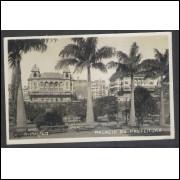 SP39 - Cartão Postal antigo (1928), Palácio da Prefeitura, São Paulo.