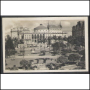 SP45 - Cartão Postal antigo, Parque Anhangabahú, São Paulo.