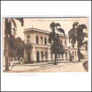 BH07 - Cartão postal antigo, Bello Horizonte, Banco Hypothecario de Minas Gerais. Parc Royal Editor.