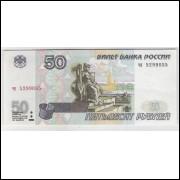 Rússia (P.269) 50 Rublos, 1997, soberba.
