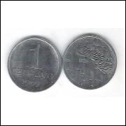 1969 -  1 Centavo, aço, fc.