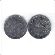 1976 - 2 Centavos, fc, Comemorativa, Alimentos para o Mundo - FAO. Soja.