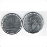 1978 - 10 Centavos, fc. Aço.