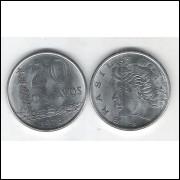 1978 - 20 Centavos, fc. Aço.