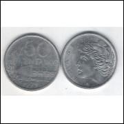 1975 - 50 Centavos, fc. Aço.